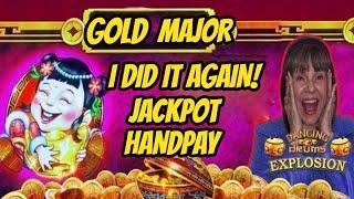JACKPOT HANDPAY! DRUM ME TO THE GOLD MAJOR!
