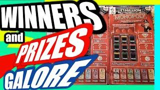 Fantastic Scratchcard Game.Winners EverywhereMonopoly Millionaire.& Prize Give away for Viewers