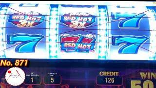 SPITFIRE MULTIPLIERS - Triple RED HOT Slot Free Games Bonus @ San Manuel Casino 赤富士スロット