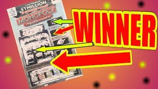 WINNERS..ON..MONOPOLY..& ....WINNER ON £25,000 Month Scratchcard...MEGA SCRATCHCARD GAME..and WINS