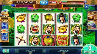 GREAT WALL Video Slot Casino Game with a FREE SPIN BONUS