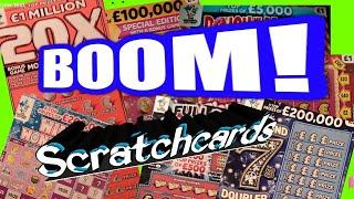 Scratchcards..20X Orange..Diamond 7..Full £500s.DOUGH me Money.Wonderlines.Flamingo.