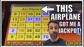 An Airplane gave me a Handpay! POLAR HIGH ROLLER VGT Slot Handpay Jackpot!