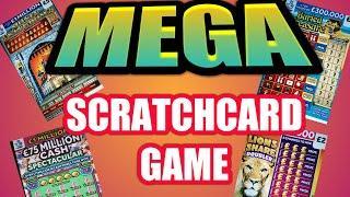 """MEGA SCRATCHCARDS GAME""""FULL 500""""CASH SPECTACULAR"""" CASH 7s"""