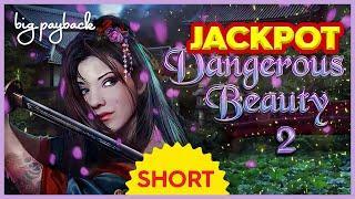 BIGGEST JACKPOT ON YOUTUBE!! For Dangerous Beauty 2 Slot! #Shorts
