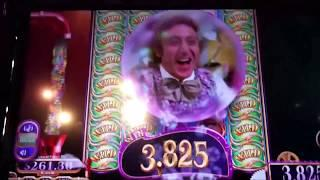 HAVE YOU EVER SEEN THIS??? WILLY WONKA SLOT MACHINES!! FLASHBACK TO 2014!