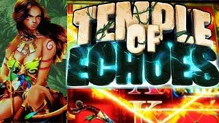 First Look! NEW *TEMPLE OF ECHOES* by (Bluberi) Live Play | Free Spins