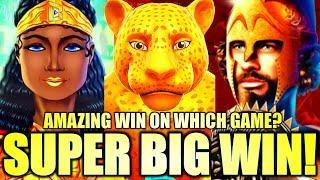 SUPER BIG WIN! AMAZING WIN!  ON WHICH GAME? CASH BURST, MEGA LINK, SPARTACUS Slot Machine (SG)