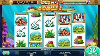 """GOLD FISH Video Slot Casino Game with an """"EPIC WIN"""" GOLD FISH  BONUS"""