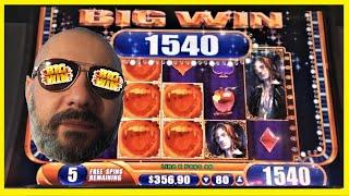 CASHING OUT BIG WINS! VAMPIRES EMBRACE SLOT MACHINE!!