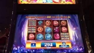 Gems Gems Gems Slot Machine Free Spin Bonus NYNY Casino Las Vegas