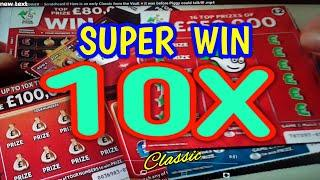 THE  £2 SCRATCHCARDS  BATTLE IT OUT...ON THIS LATE NIGHT CLASSIC.. (WE SPENT ONLY £10 ON CARDS)