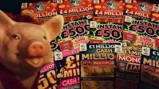 •Scratchcards..•.George•...•Piggy.. •Bruno...•️.Here We GooooOOOOOO•!!!