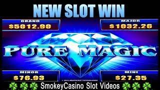 +New Slot PURE MAGIC - Progressive & Bonus Wins - Aristocrat
