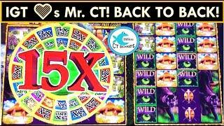 BACK TO BACK WINS! MYSTERY OF THE CONGO SLOT MACHINE, 3rd SPIN BONUS ON 3 KINGS SLOT! BIG WIN!