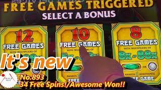 Huge Win 34 Free Spins!!New Dragon of Fortune Slot Max, Bonus Games Max Bet 赤富士スロット最初の試みで大当たり
