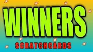 SCRATCHCARD DRAW FINAL...WINNERS REVEALED..WhooooOOOOOOO