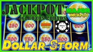 ️HIGH LIMIT Dollar Storm Ninja Moon HANDPAY JACKPOTS $50 SPINS ️(6) BONUS ROUNDS MAJOR JACKPOT