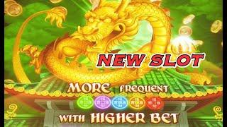 NEW SLOT! DRAGONS WEALTH Max Bet Live Play.