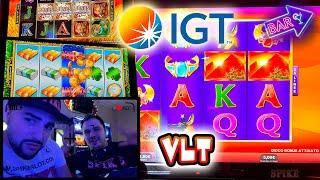 SLOT ITALIA - Una partita alle nuove VLT della IGT  (SPHINX WILD e altre)