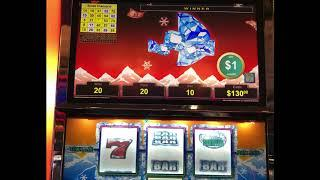 """VGT Slots """"POLAR HIGH ROLLER""""  Red Win Spins  Choctaw Casino, Durant, OK JB Elah Slot Channel"""
