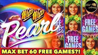 ️WILD WILD PEARL NON STOP RETRIGGER️ MAX BET BIG WIN | NEW SLOT 5 DRAGONS RISING JACKPOTS BONUS