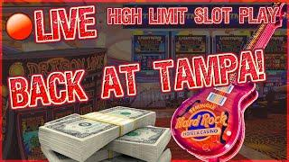 $50K LIVESTREAM HIGH LIMIT SLOT PLAY  FROM SEMINOLE HARD ROCK TAMPA  $25 to $250 SPINS ONLY