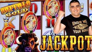 HANDPAY JACKPOT On High Limit Buffalo Gold Slot | Slot Machine JACKPOT In Las Vegas | SE-10 | EP-4