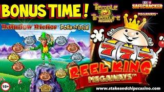 Online Casino Slots - Can i WIN ? - Reel King megaways - Rainbow riches & more