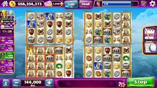 FORTUNE 4 ZEUS II Video Slot Casino Game with a SUPER RESPIN BONUS