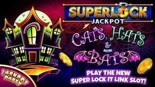 Superlock Jackpot: Cats, Hats & More Bats | Halloween Exclusive!