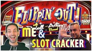 FLIPPIN' OUT & Tree of Wealth YOU-ME MONDAYS  Brian Christoper & Slot Cracker  MGM LAS VEGAS