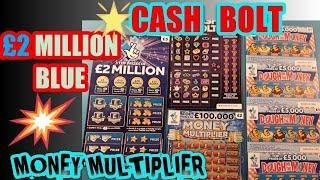 CASH BOLT..SCRABBLE CASHWORD.£2 Million.Dough Money.Money Multiplier(Want More Games.Just give LIKE)