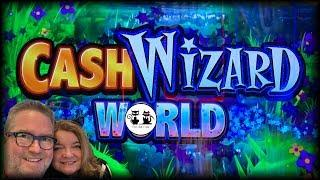 SMOKIN' HOT STUFF JACKPOTS  CASH WIZARD WORLD