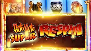 Zeus II Respin Version 2 - Jackpot Party Casino Slots - Landscape 16sec