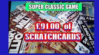 WOW!. £91.00 Scratchcards Game. 7,000 Subscribers Special Classic..Hope it takes your mind of things