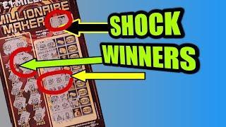 WOW!..SHOCK WINNERS...SCRATCHCARDS...7s DOUBLER..JEWEL DOUBLER..JEWEL SMASH..MILLIONAIRE MAKER..