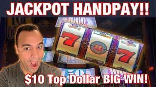 $10 Top Dollar JACKPOT HANDPAY!!      High Limit Lightning Link BONUS   EEEEE!!!
