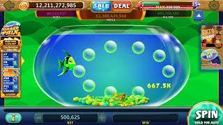 GOLD FISH DELUXE Video Slot Casino Game with a PICK A BUBBLE BONUS from the Gold Fish Online Casino.