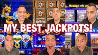 SHOCKING JACKPOT HANDPAYS!!! | $100 WHEEL OF FORTUNE MEGA GRAND PRIZE SPIN!!!