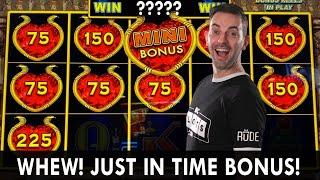 OOPS! BIG BET BONUS  Dollar Storm PAYS Just In Time  Mighty Cash DOUBLE UP  Choctaw Casino #ad
