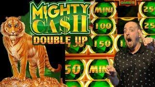 New Game• •Mighty Cash Double• Nice hits Bonuses• Have you Played them•