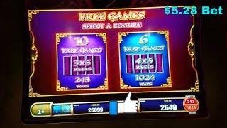 Tree of Wealth  Rich Traditions    Slot Machine  Bonus  Win Live Play !!!!!