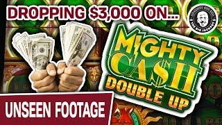 $3,000 IN and $45 SPINS Playing  MIGHTY  CASH  DOUBLE  UP  SLOTS