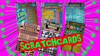What a Game...12 months Richer..Cashword..Wonderlines..Cashword..Bingo..£100 Loaded..5X Cash.WIN £50