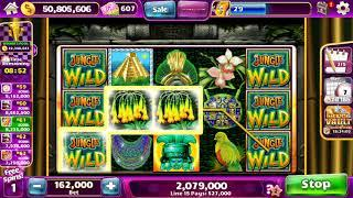 JUNGLE WILD Video Slot Casino Game with a FREE SPIN BONUS