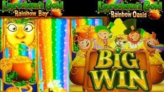 First Look• •Leprechaun's Gold - Rainbow Bay/Rainbow Oasis• Live Play|Features|Bonus