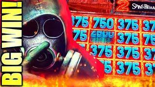BIG WIN! SILENT HILL ESCAPE CREEPY BUT WINNING!! Slot Machine (KONAMI)