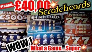 Scratchcard•all I can say its a long video and a WOW!•of a game.(night classic)Don't forget'LIKES'