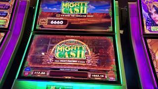 Mighty Cash Outback Bucks Bonus EVIL Jackpot!!!!